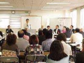 葛飾区長、都議・区議、小学校校長など100名が参加したLSA養成講座